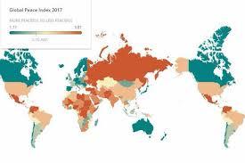 harta mondiala a pacii