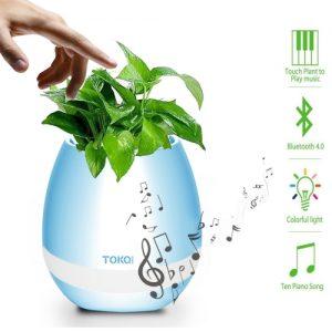 Boxa Bluetooth ghiveci real pentru flori